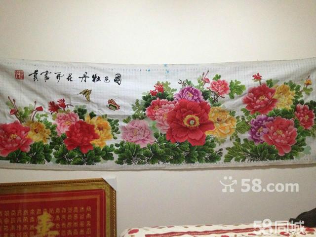 【图】九尺牡丹花开富贵