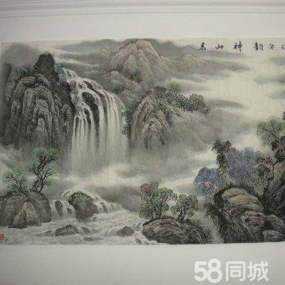 转中国美协张铁石老师的山水画
