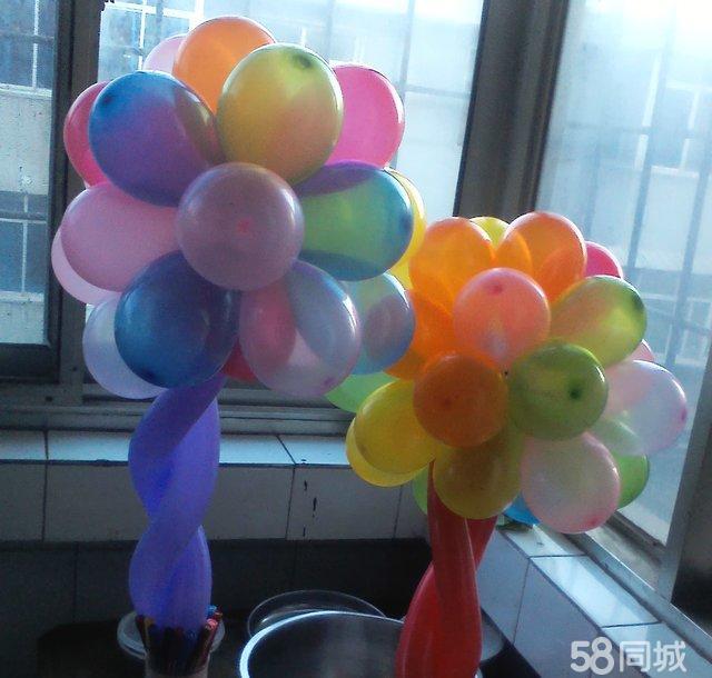 【图】魔术气球的制作技术:气球玫瑰花