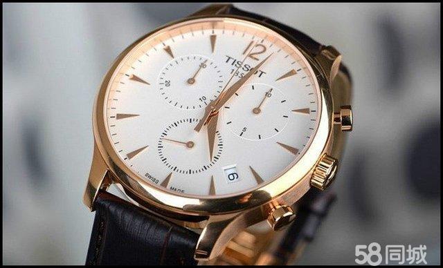 针石英男士皮带手表t063