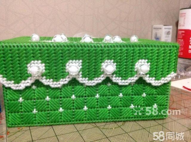 【图】毛线绣纸巾盒来咯