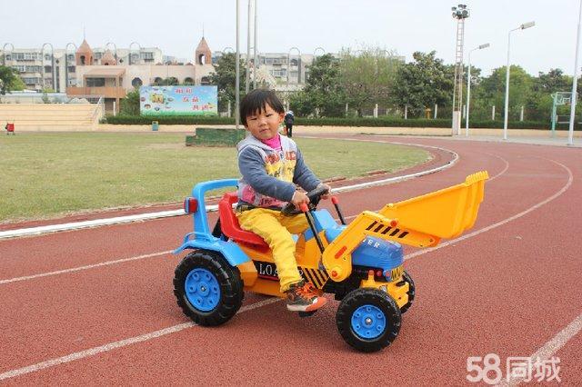 【图】儿童挖掘机推土机玩具车挖土机工程车四轮脚踏
