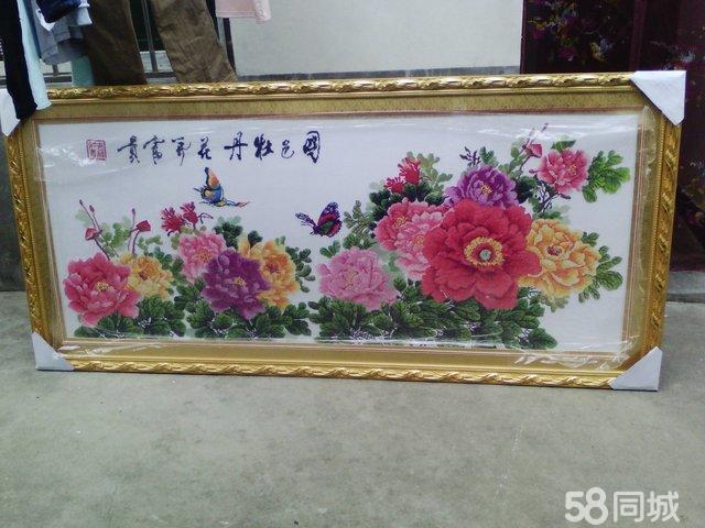 【图】十字绣花开富贵