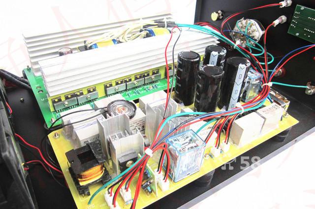 大功率电鱼机电路图-白金机制作图解电路图/自制高频