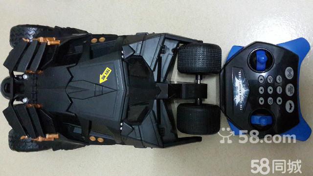 【图】蝙蝠侠超帅黑色遥控赛车
