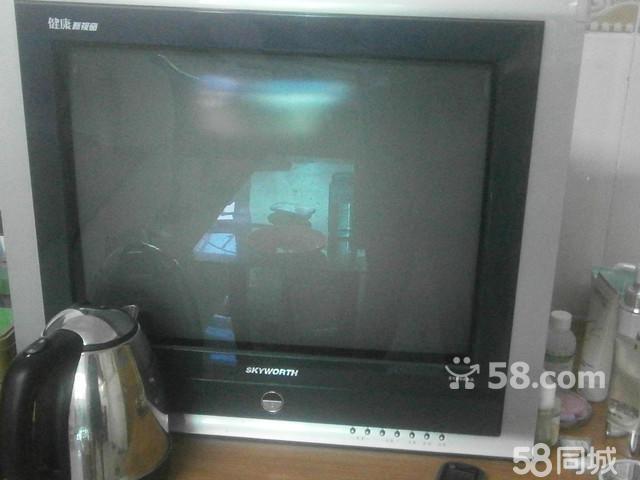 【图】银色边框台式电视机