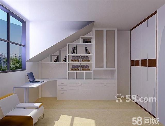 家庭装修楼梯连体酒柜效果图