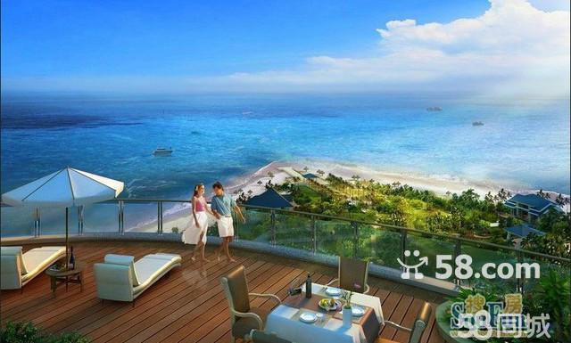 (出售) 长岛蓝湾双海湾海景现房,21万/套起,精装修.