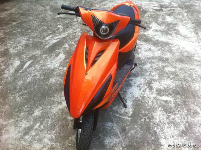 【图】拉风大气鬼火摩托车