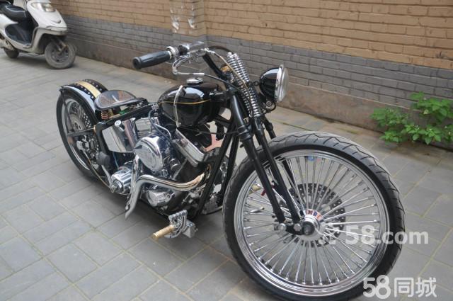 【图】哈雷复古摩托车