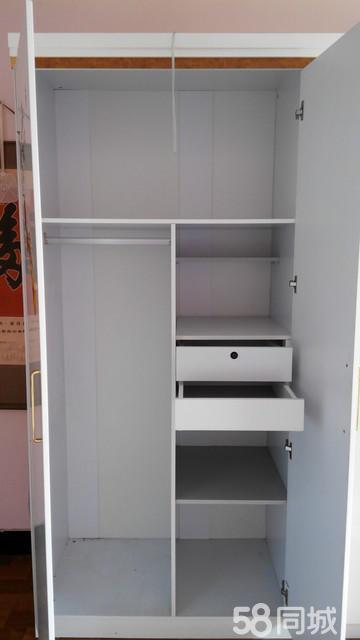 【图】双虎品牌欧式四开门衣柜