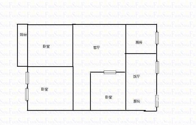 【图】璧山中学作文家属2室2厅1卫67-重初中真好正则感觉以a中学的图片