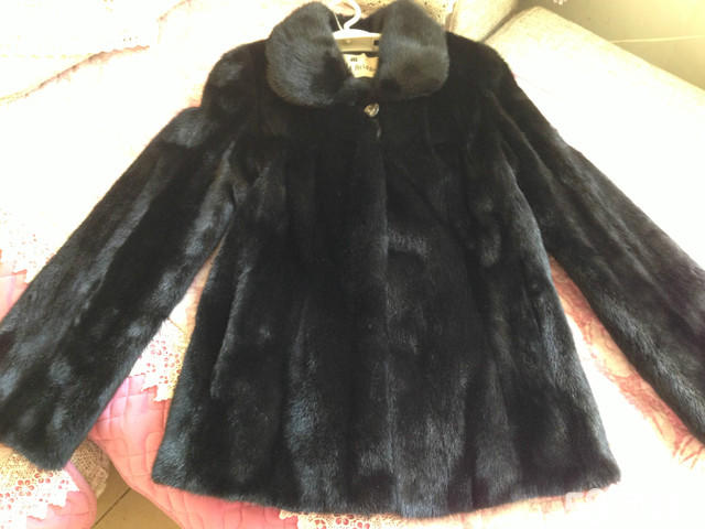 【图】黑色貂皮大衣