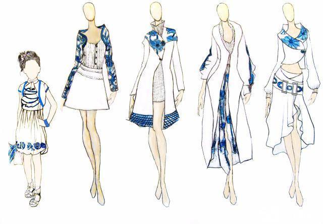 【图】出售1服装设计专业毕业设计rem+和设计图px换算图片