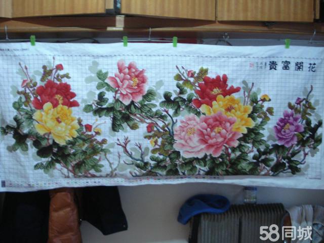 【图】十字绣 花开富贵