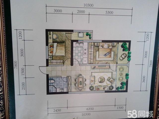设计图分享 长十五米宽八米的房子设计图 > 十五米宽房屋设计图