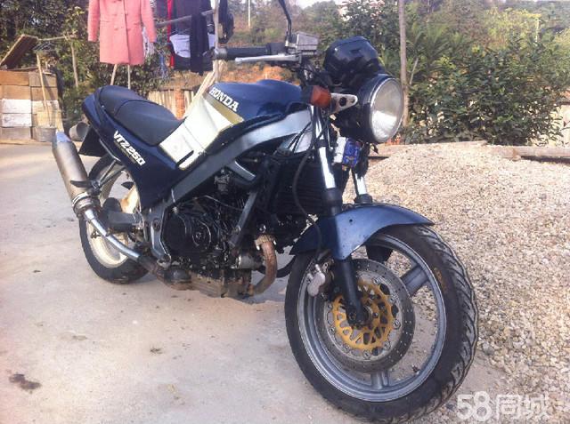 长沙二手摩托车58_【图】转让本田VTZ250 - 长沙周边长沙县二手摩托车 - 长沙58同城