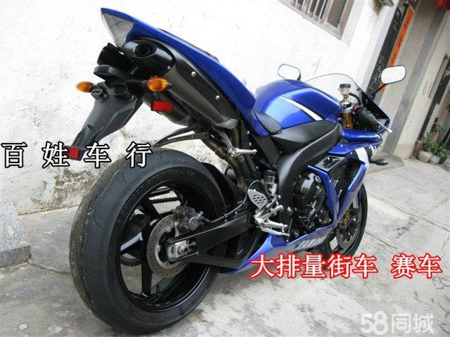 节制闸华健摩托车专卖店 南通买雅马哈400的重机车要多少钱?
