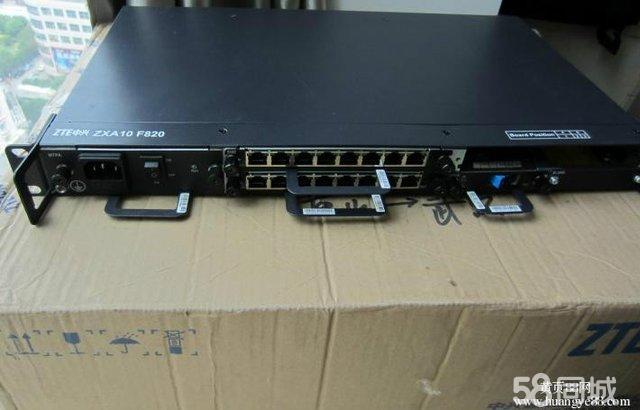 中兴zxa10 f820 光纤交换机 转让