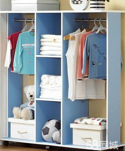 【图】韩式简易木质衣柜