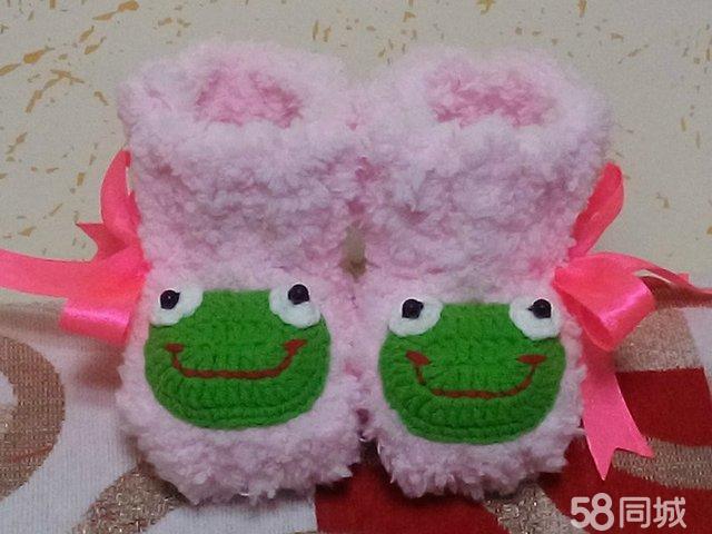 【图】自织纯手工毛线宝宝鞋