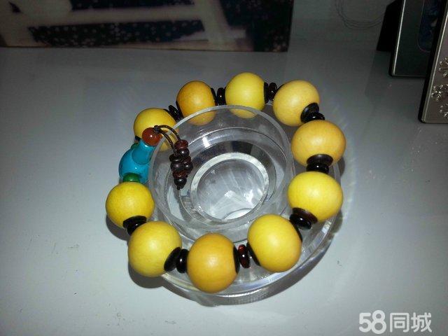 10圆球葫芦,直径1.7cm.镶嵌紫檀.手工制作