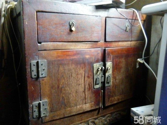 【图】古董古玩 百年老柜子图片