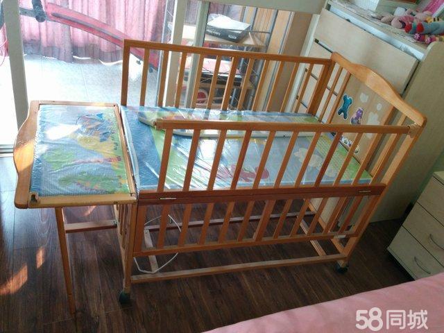 【图】二手实木儿童床