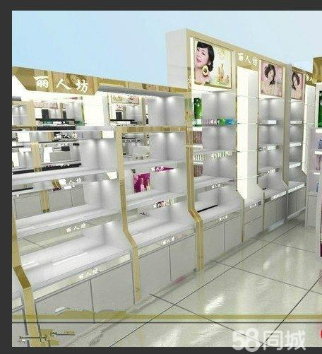 储物柜订做 美容院店面装修 展览展柜设计 展厅装修装潢 木制柜台