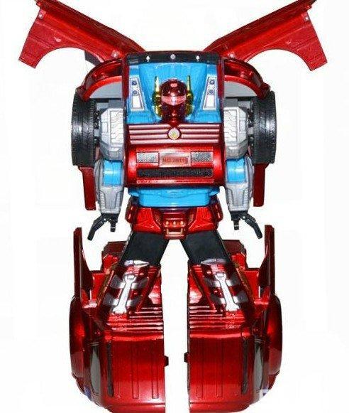 【图】儿童电动玩具 遥控变形车