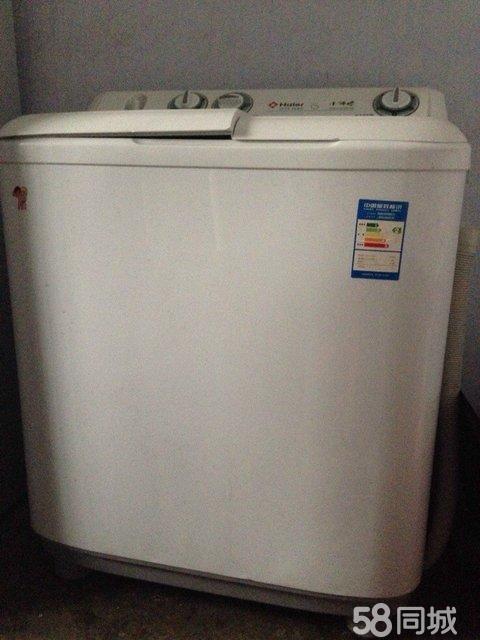 【图】出售2手海尔小神螺滚筒洗衣机