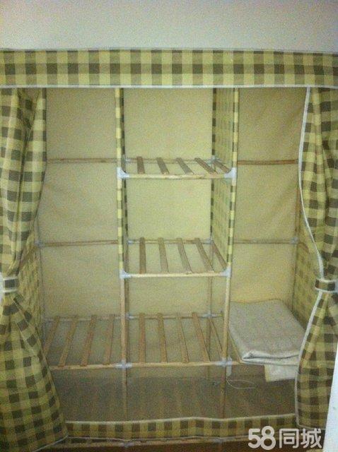 【图】实木 组装木衣柜