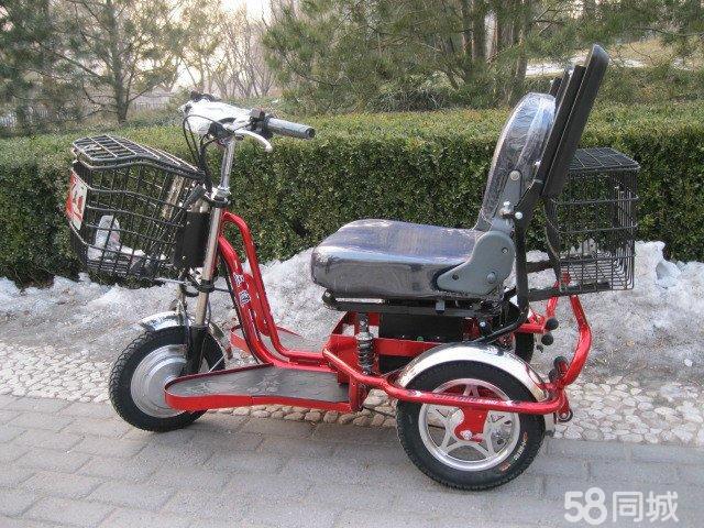 三轮电动老年代步车 供应老年电动三轮代步车 高清图片