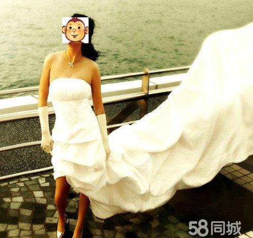 燕尾婚纱_燕尾拖地婚纱-适合十二星座的婚纱 给你一个浪漫的婚礼