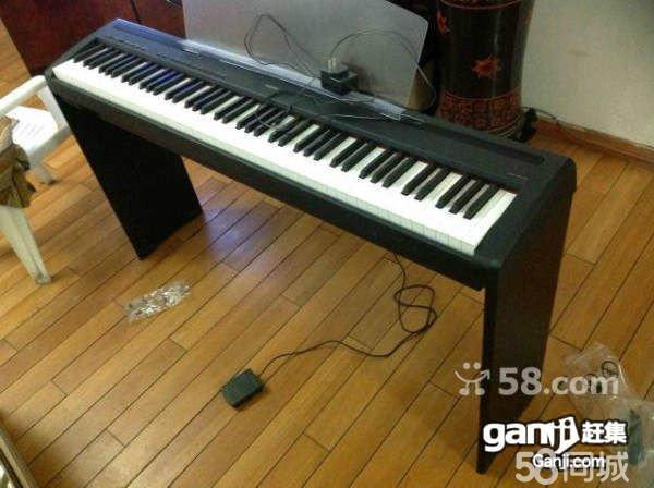 p85电钢琴88重锤力度键图片