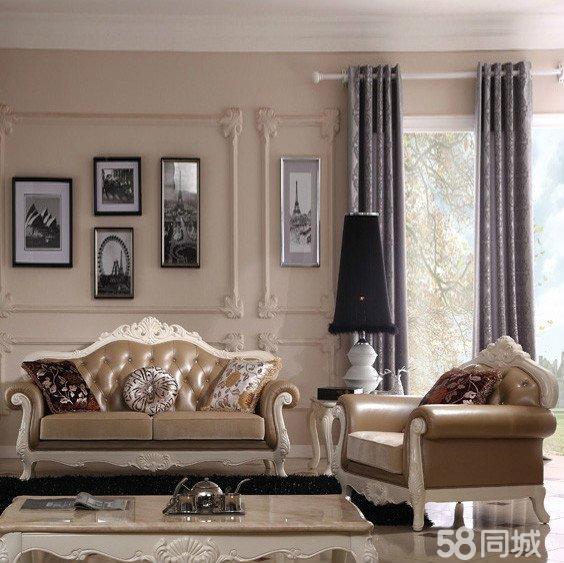 欧式简约 奢华客厅家具