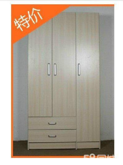 出售白枫木纹衣柜 两门衣柜 俩门柜 环保耐用鞋柜 床头柜电视柜销售