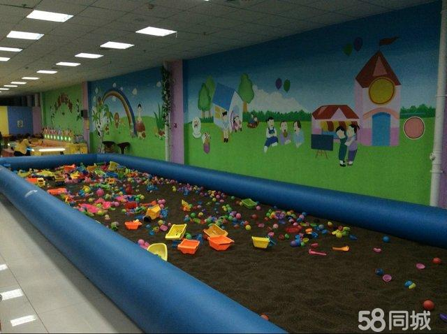 5成新500平室内儿童游乐园淘气堡等