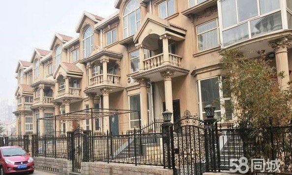 客运中心附近地中海庭院,欧美风格装修,别墅,环境优雅
