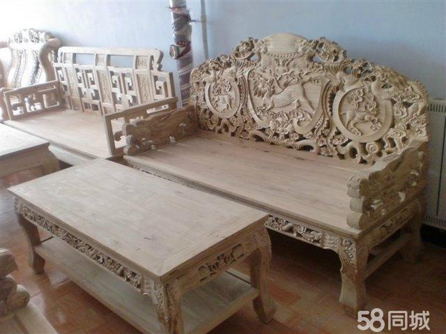 北方榆木拆房老料 榫卯结构传统工艺