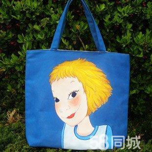 韩国彩铅手绘女孩