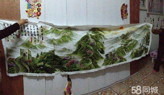 盛世中华十字绣3.2米成品 会议室 酒店大堂 客厅装饰佳品3 高清图片