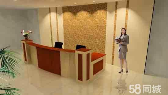 【图】公司前台吧台办公套办公桌屏风隔断香河家具