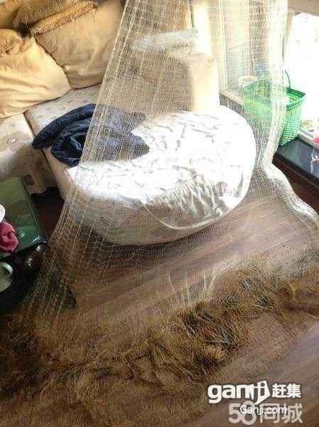 线手工编织鱼网