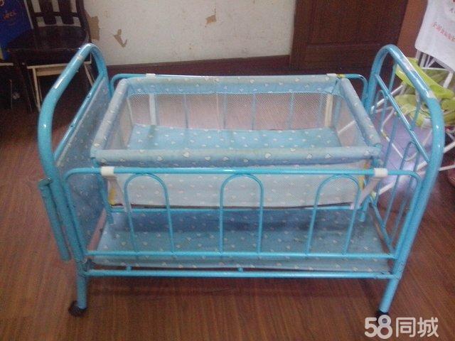 【图】9成新小阿龙婴儿床摇篮发放,带图纸的哦转让工作盖章低价图片