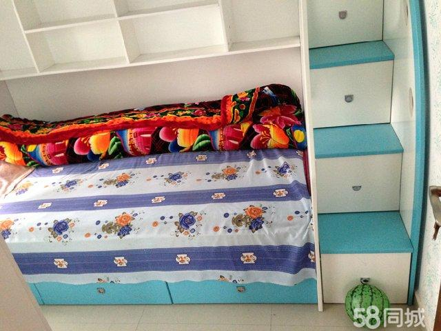 【图】双层儿童床,带楼梯抽屉