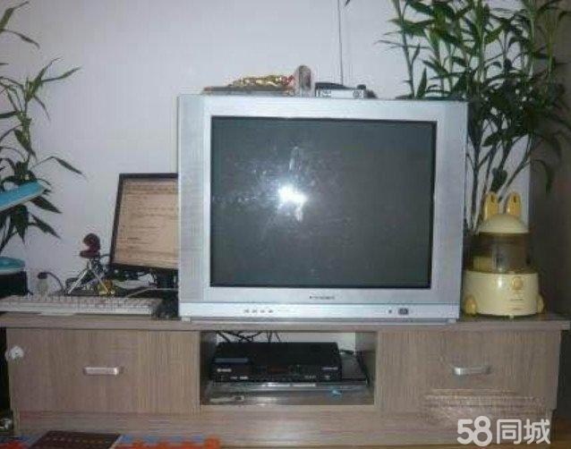 长虹29寸高清纯平电视机和全新卫星锅一套