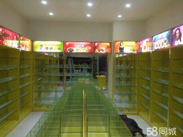 架,电话中岛柜,座上客高档零食柜-白下升州路零食巨田家具图片