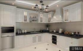 欧式整体厨房橱柜图片