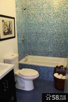 4平米卫生间瓷砖效果图